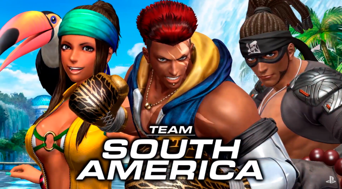 King of Fighters XIV Team South America Trailer