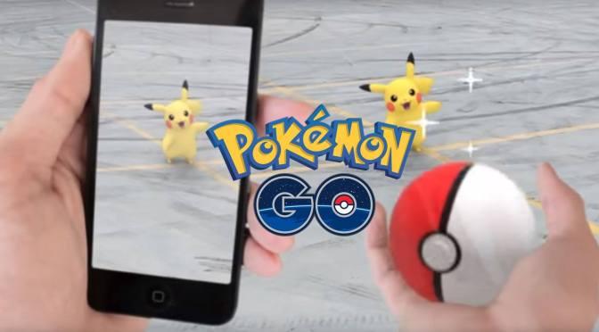 Pokemon Go! Finally here! Sort of…