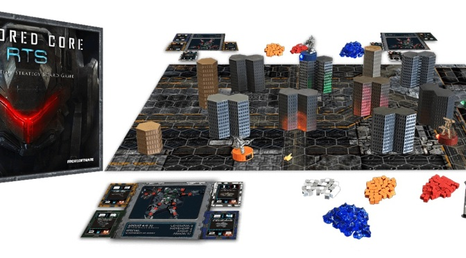 Amored Core Board Game? Yes, it will be real