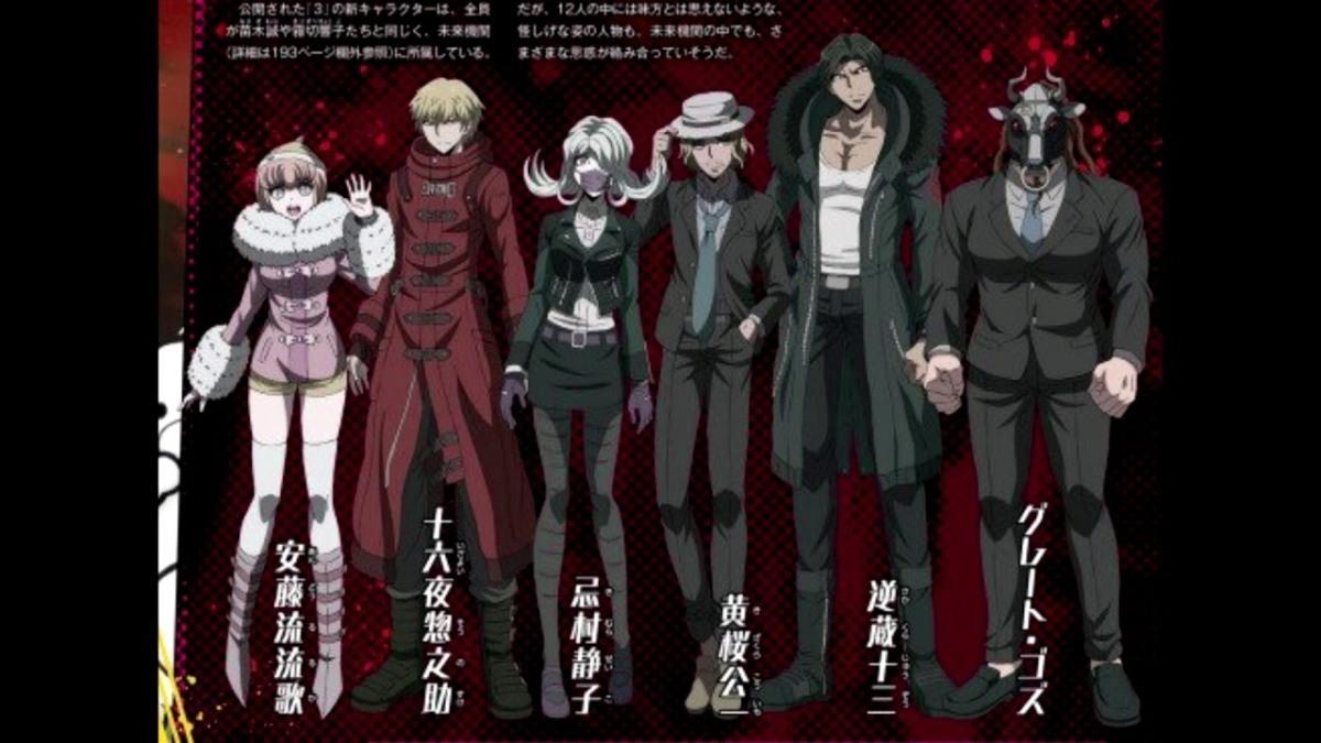 Danganronpa 3 Anime Characters : Danganronpa future arc episode new challenger gaming