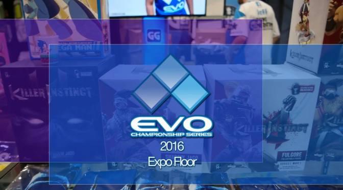 NCG on the Expo Floor at Evo 2016