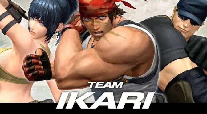 King of Fighters XIV: Team Ikari Warriors