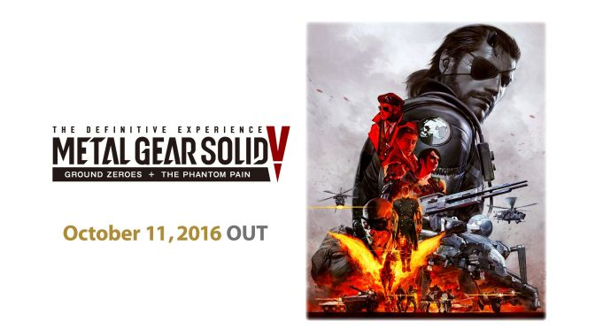 Metal Gear Solid V: The Definitive Experience Will Launch This October