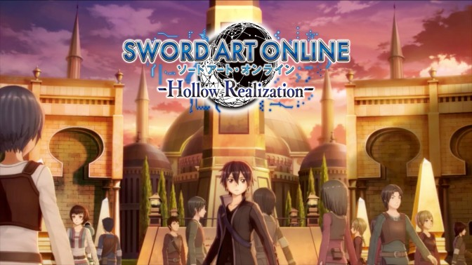 SWORD ART ONLINE -Hollow Realization- release date announced
