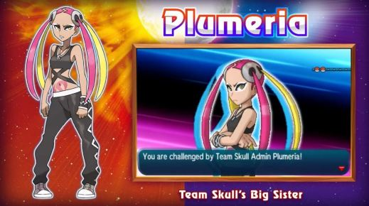 plumeria pokemon sun moon-noscale