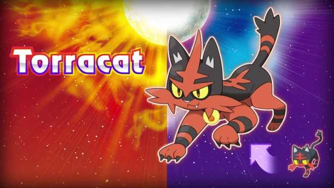 The Starters Evolutions on Pokemon Sun and Moon Look Awesome, Demo launches October 18