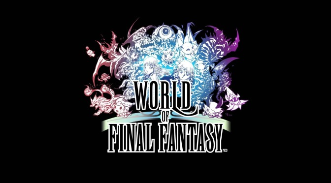Sora in World of Final Fantasy as DLC