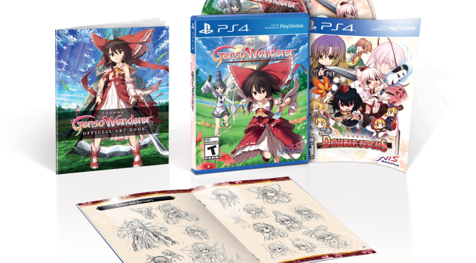 """""""Touhou Genso Wanderer"""" and """"Touhou Double Focus"""" Will Release February 7 in North America"""