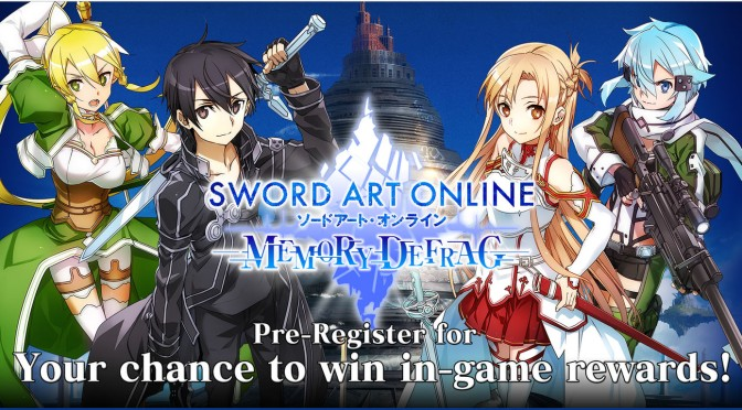 Sword Art Online: Defrag is Heading West for IOS and Android