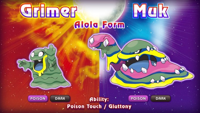 Six New Pokemons in the Newest Sun and Moon Trailer