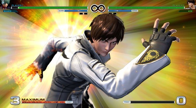 KOF XIV Version 1.10 patch will add a Graphic Boost