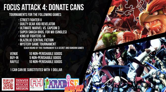Focus Attack 4:Donate Cans (FADC4)
