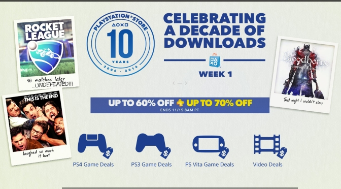 PlayStation Store Anniversary Sale Week 1 | New Challenger Gaming