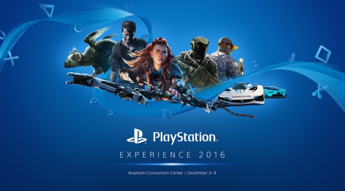 Come Watch the Playstation Experience 2016's Keynote Here at 11 AM (MST) [Updated]
