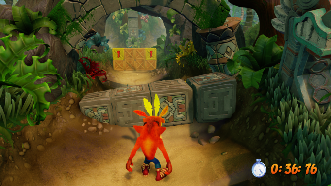 First look at  Crash Bandicoot: Nsane Trilogy