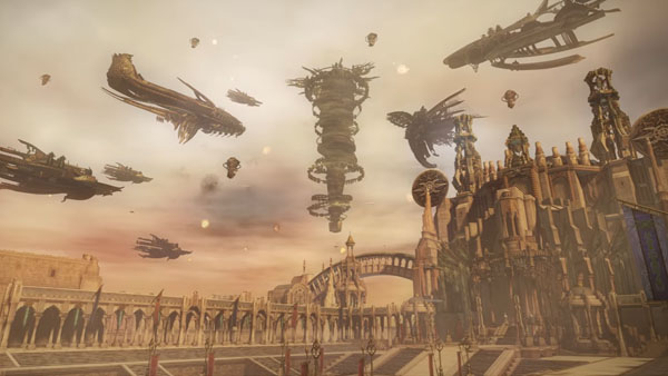 Dissidia Final Fantasy will be getiing a new Stage from FFXII