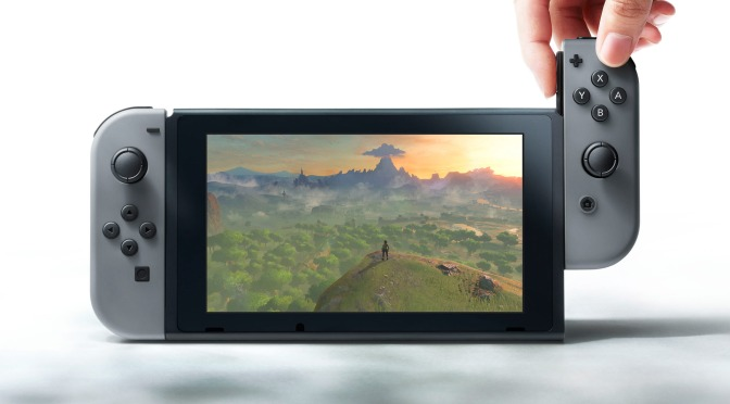 First Look at the Nintendo Switch in Action