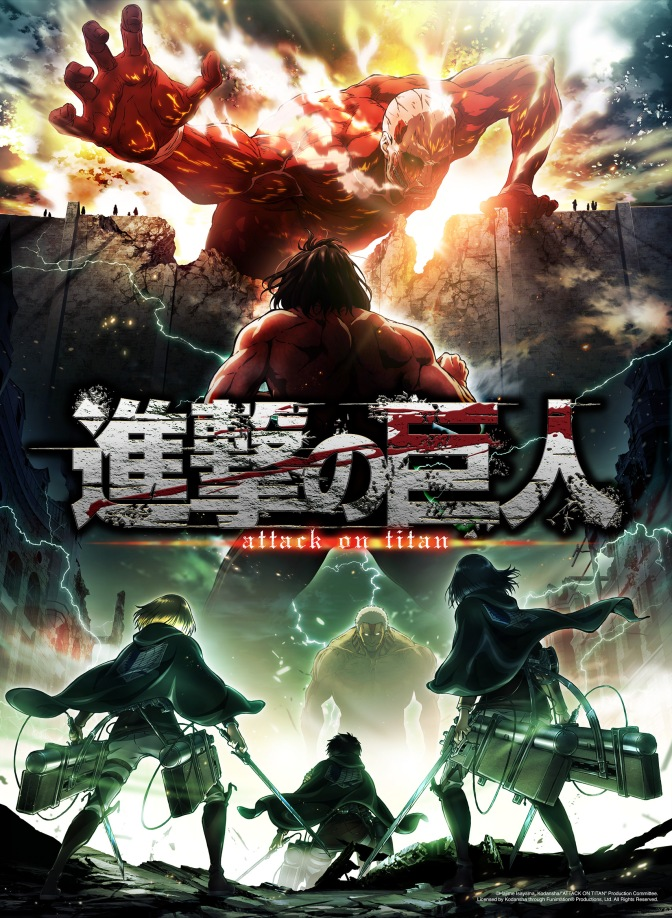 Funimation acquired rights for Attack on Titan Season 2, and will Premiere in April