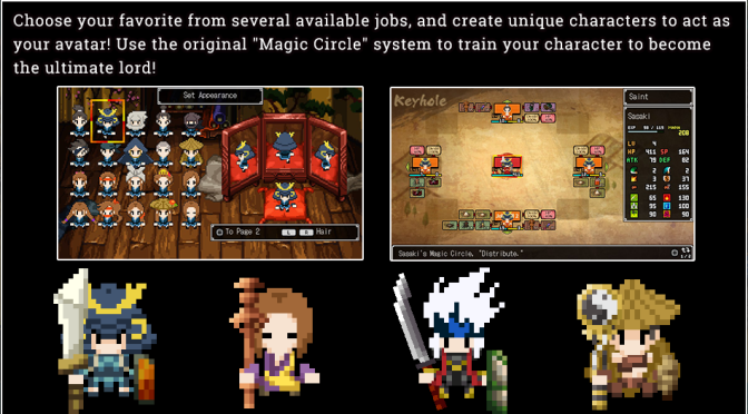 Cladun Returns: This is Sengoku Website has been Updated with more details on the Game