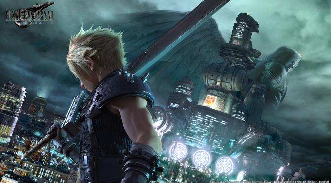 Key Art unveiled for Final Fantasy VII Remake