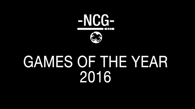 Team NCG's Games of the Year 2016