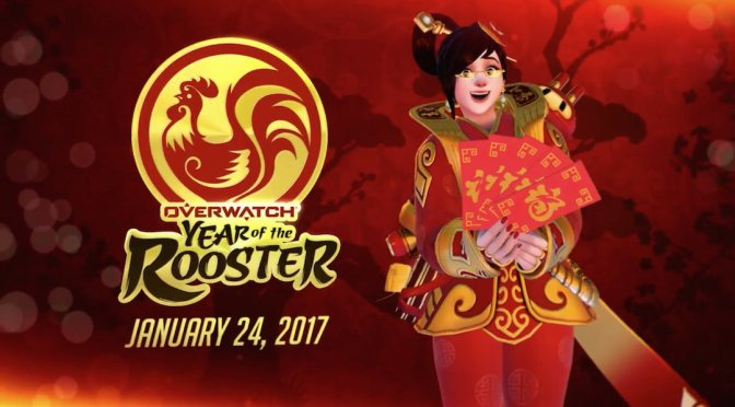 Overwatch has a new update today, Year of the Rooster Event