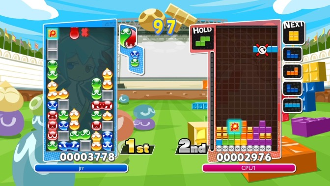 Puyo Puyo Tetris will be coming to the Switch and PS4 this Spring