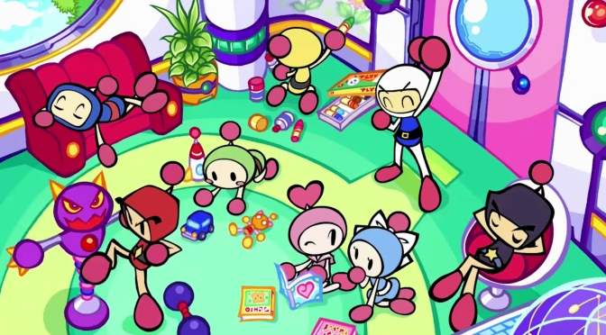 Konami is back with Super Bomberman R for the Switch