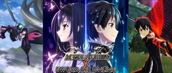 Accel World VS Sword Art Online cross-over coming in 2017