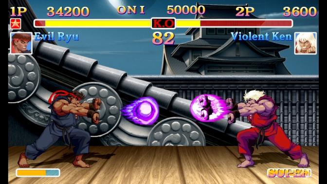 Ultra Street Fighter II: The Final Challengers announced for Switch