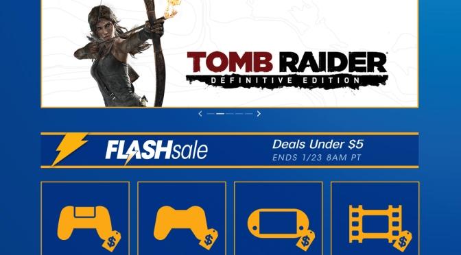 Playstation Flash Sale, DEALS under $5