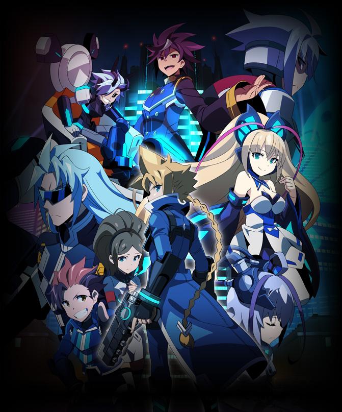Azure Striker Gunvolt: The Anime will launch February 9 on the Nintendo eShop