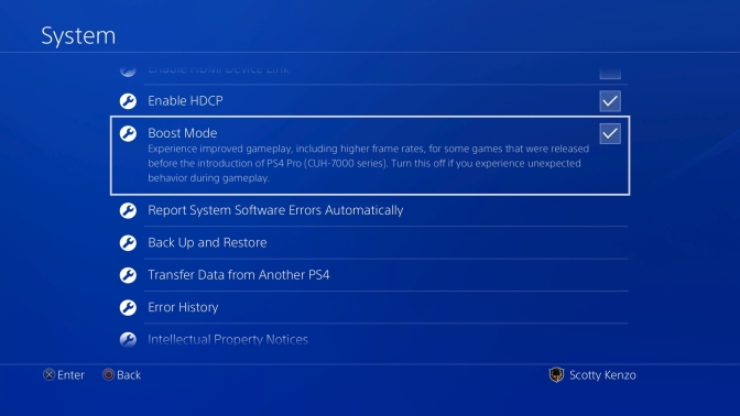 PS4 Update 4.50 will be out Tomorrow, External HDD support, Pro Boost, plus more