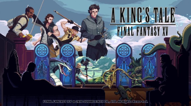 "You can now download A King's Tale: Final Fantasy XV ""FREE"" on PS4 and Xbox One"