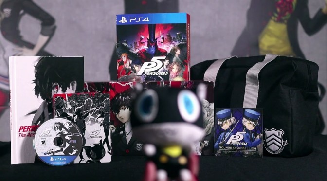 "Atlus Shows Off The Persona 5 ""Take Your Heart"" Premium Edition"