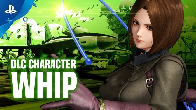 "DLC Character ""Whip"" has been announced for KOF XIV"