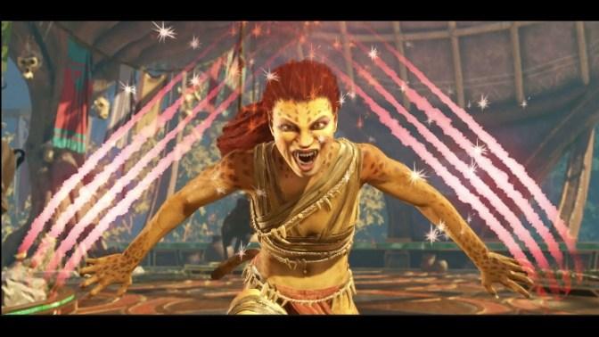 Injustice 2 Cheetah's Gameplay Trailer