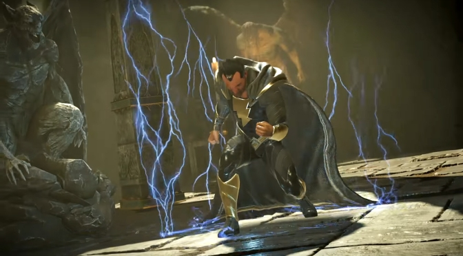 "Sneek Peek at Black Adam in the Injustice 2 ""Shattered Alliance Part 3"" Trailer"