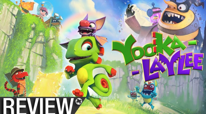 NCG Review: Yooka-Laylee (PS4, Xbox One, and PC)