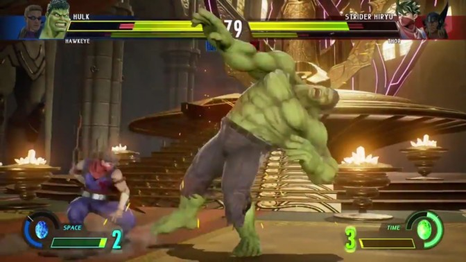 Check out Five Minutes of Gameplay for Marvel vs Capcom Infinite