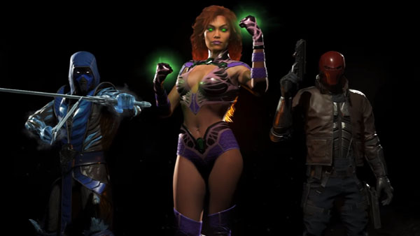 Check out the first three Injustice 2 DLC character's