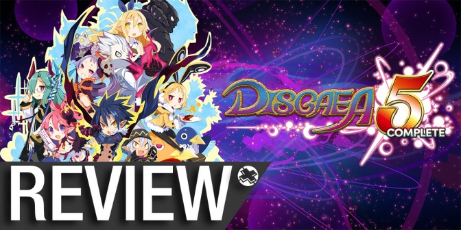NCG Reviews: Disgaea 5 Complete for Nintendo Switch