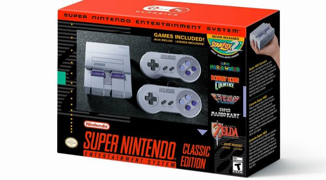 SNES Classic Edition is coming this September
