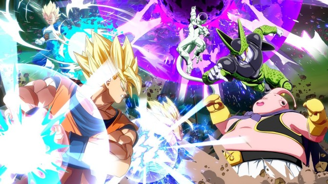 Dragon Ball FighterZ Reveal trailer, and Beta on the way