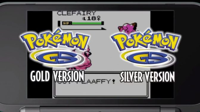 Pokemon Gold and Silver will be hitting the 3DS Virtual Console