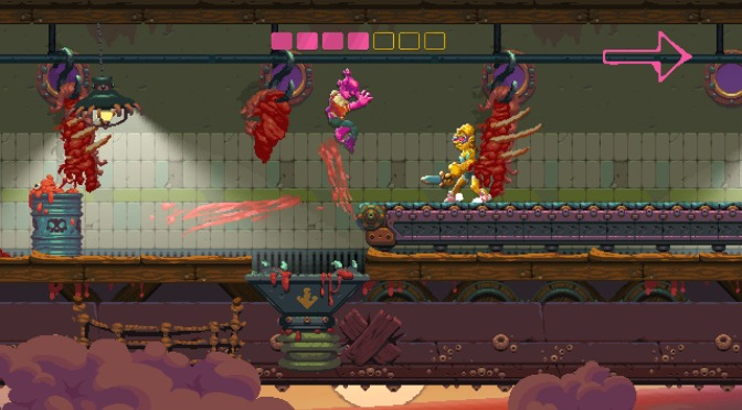 Pre-Launch Trailer and release date for Nidhogg II