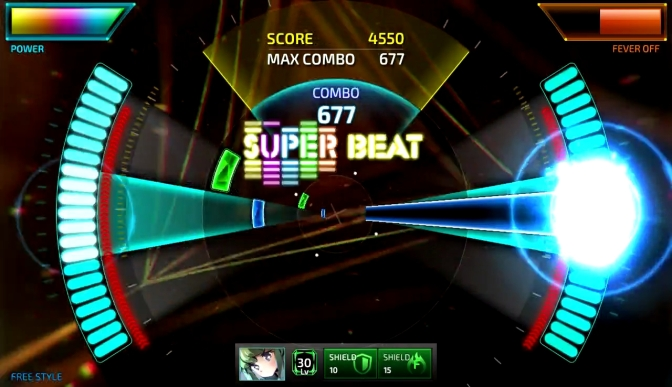 Superbeat: Xonic is coming to the Switch