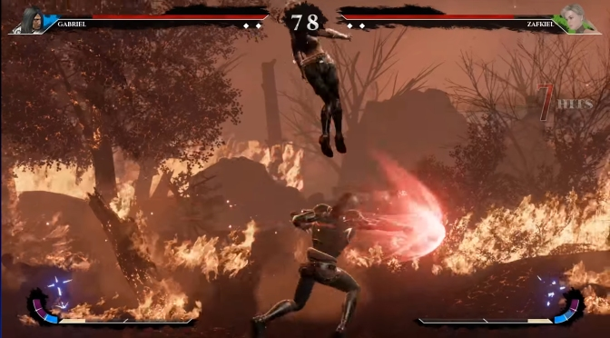 Horror-inspired fighting game will be playable at EVO 2017