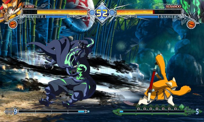 Japan is getting Jubei in BlazBlue: Central Fiction on August 31st