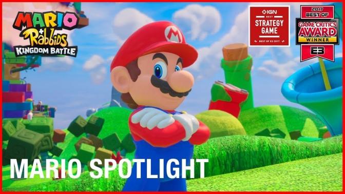 Mario + Rabbids Kingdom Battle gets a new character trailer